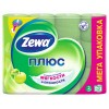 Туалетная бумага Zewa Plus яблоко 2сл 12шт