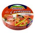 Сыр плавленый Hochland ветчина 140г круг  Россия