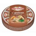 Сыр плавленый President 8 сырков грибы 140г Россия