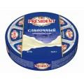 Сыр плавленый President 8 сырков сливочный 140г Россия