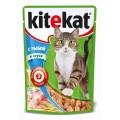 Корм KiteKat рыба в соусе 100г