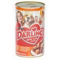 Корм Darling для собак курица+индейка 1,2кг конс