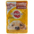 Корм Pedigree для взрослых собак говядина/ягненок 100г