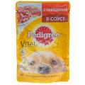 Корм Pedigree для взрослых собак говядина 100г